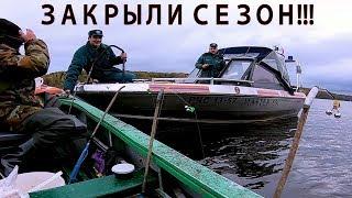 Рыбалка на кольцо. Октябрь 2017. Волга.