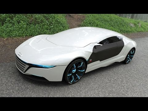 Audi A9 Concept Luxurious Car