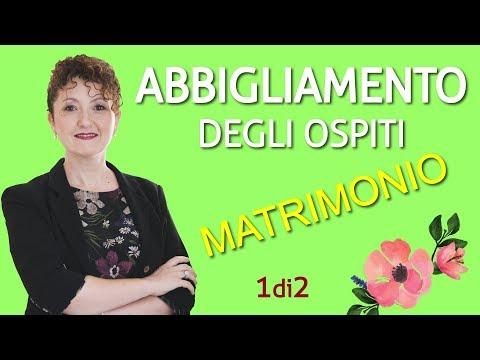 Come si vestono gli invitati - 1 di 2 - Matrimoni con l'accento - Roberta Patanè