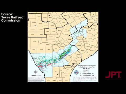 Eagle Ford Shale Well Permit Time-lapse