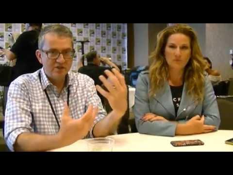 People of Earth - Ana Gasteyer, Greg Daniels Interview (Comic Con)
