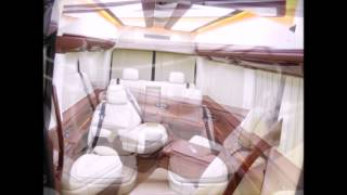 видео Переоборудование и тюнинг салона Мерседес Спринтер в Москве от Jet-Bus