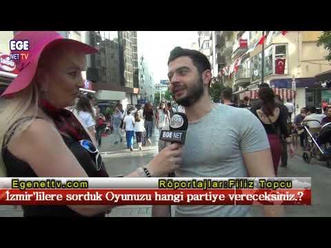 İzmir'lilere sorduk Oyunuzu hangi partiye vereceksiniz.?