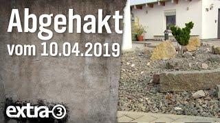 Abgehakt am 10.04.2019
