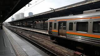 211系K2編成名古屋7番線4両停車位置へ移動