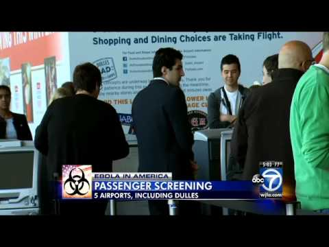 Five US Airports Screening for Ebola