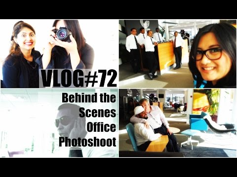 ABU DHABI VLOG#72 - Office Photoshoot Behind the Scenes