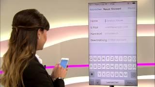 Telekom: E-Mail@t-online auf dem iPhone einrichten (mit dem iPhone 5S)
