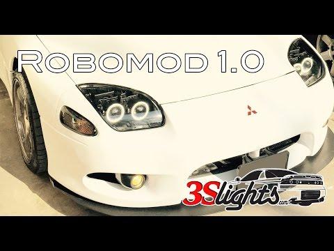 Mitsubishi 3000GT / Dodge Stealth Robomod Halo Headlights Robo mod