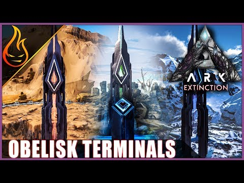 ARK Extinction Obelisk Locations And Terminals