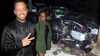 Terrence J Allegedly Caught CREEPING On GF Jasmine Sanders When He Slammed $200K McLaren