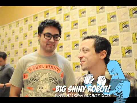 : Bryan Lee O'Malley and Michael Bacall  Scott Pilgrim  ComicCon 2010