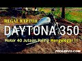 Suara Knalpot Regal Raptor Daytona 350/ Custom Exhaust Sound ala motor Harley