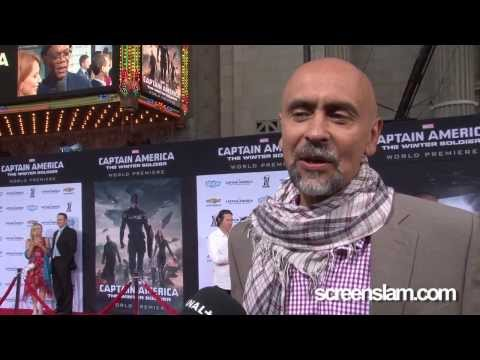 Captain America: The Winter Soldier Exclusive Premiere with Bernard White