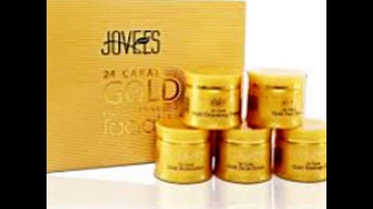 Golden facial cream