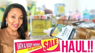 BATH & BODY WORKS HAUL 2017 | SEMI ANNUAL SALE SUMMER HAUL | Page Danielle