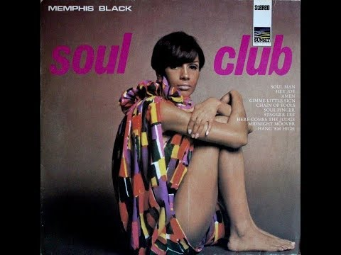 Memphis Black, Soul Club 1969 (vinyl record)