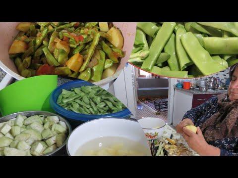 Türlü tarifi Şadiye anne yemekleri günlük vlog