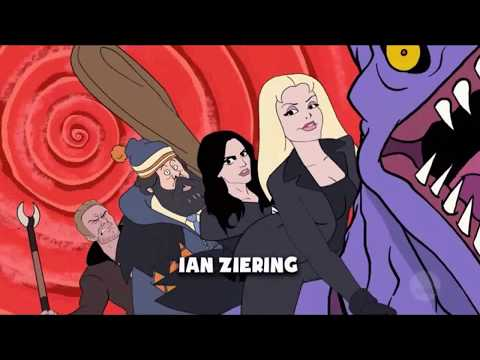 Sharknado The Animated Series (Sharknado 6 Animated Intro Credits)
