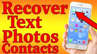 Dr. Fone 100% Awesome: Recover Deleted Text Messages, Photos, Contacts On iPhone iPad iPod