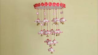 DIY Wind Chime || Wall hanging using Paper || DIY  Room decoration idea