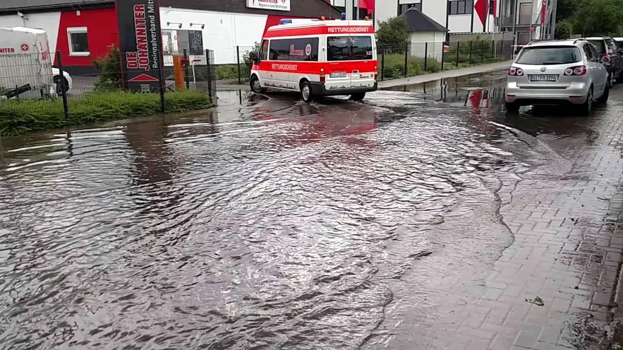 Unwetter Gießen