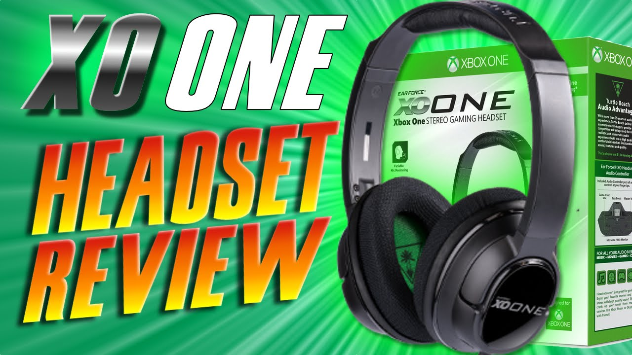 Turtle Beach XO ONE Review and Unboxing - Ear Force XO ONE XBOX ONE Stereo  Gaming Headset