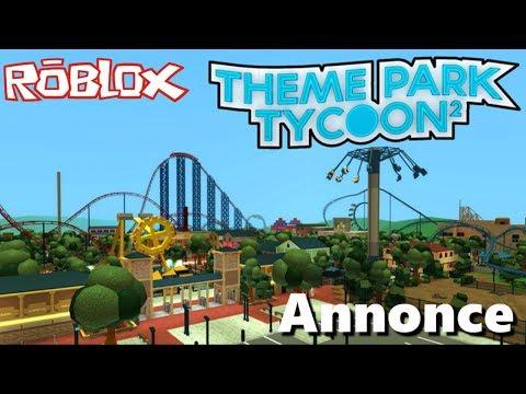 A Vous De Construire Votre Parc D'Attraction Sur Roblox 🎢