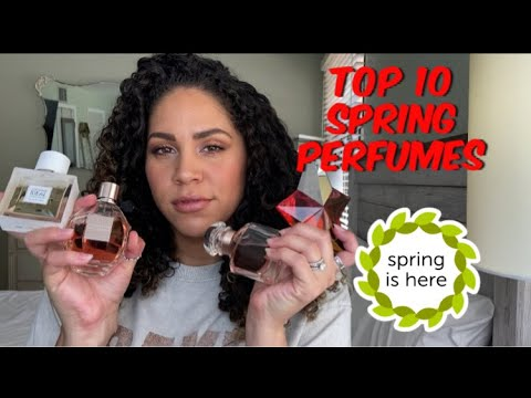 TOP 10  FRAGRANCES FOR SPRING + ONE BONUS | Perfume Collection 2020 - UNISEX - Designer & Niche
