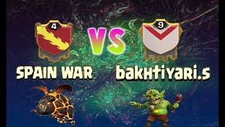 Guerra spain war vs bakhtiyari.s en clash of clans ¡¡¡¡