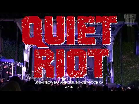 Quiet Riot - Live At Rainbow Bar & Grill, West Hollywood, CA, USA (23.04.2017)