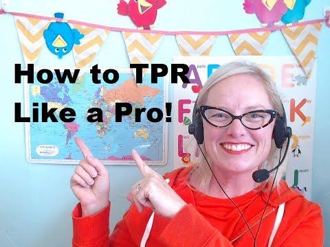 VIPKID TIPS: How to TPR Like a Pro! with Teacher Jennie