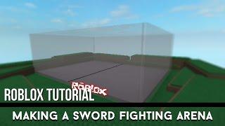 Roblox Tutorial - France Faire une arène de combat d'épée