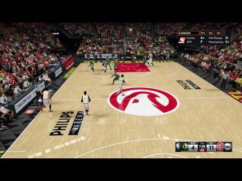 [NBA 2K16] Atlanta Hawks vs Boston Celtics [NBA 2016-2017 Season Preview]