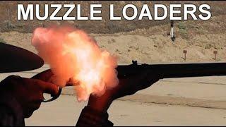 Black Powder Muzzleloader Rifles - Slo-Mo Study
