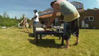Ultimate Cold Water Challenge von Sven und Fabi Haren / Ems the best 2014