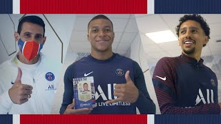 They discover their FIFA 21 Ratings! 🎮⚽️ Ft. Kylian Mbappé, Marquinhos and Juan Bernat
