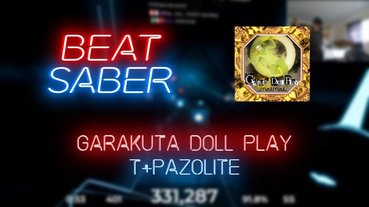 Beat Saber | Oddloop | t+pazolite - Garakuta Doll Play [Expert] #1 | 84 85%