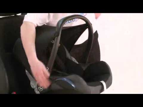 maxi cosi cabriofix car seat youtube. Black Bedroom Furniture Sets. Home Design Ideas