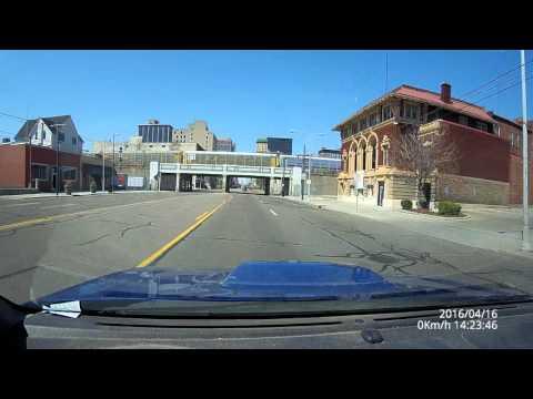 Miami Township, Ohio to Downtown Dayton & Back -- 1440 lines (2K)