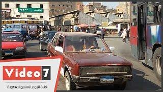 """لحالة المرورية فى القاهرة الكبرى مساء ذكرى """"فض رابعة"""".. """"عبد المنعم رياض مزدحم"""""""