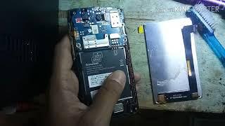 Atasi Lenovo a1000 blank hitam(no backlight)