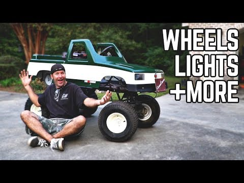 Monster Truck Kart Transformation | New Wheels/Tires, Fixed Paint!