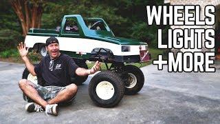 Monster Truck Kart Transformation | New Wheels/Tires, Fixed Paint!