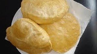 طريقة عمل الخبز البوري الهندي Youtube