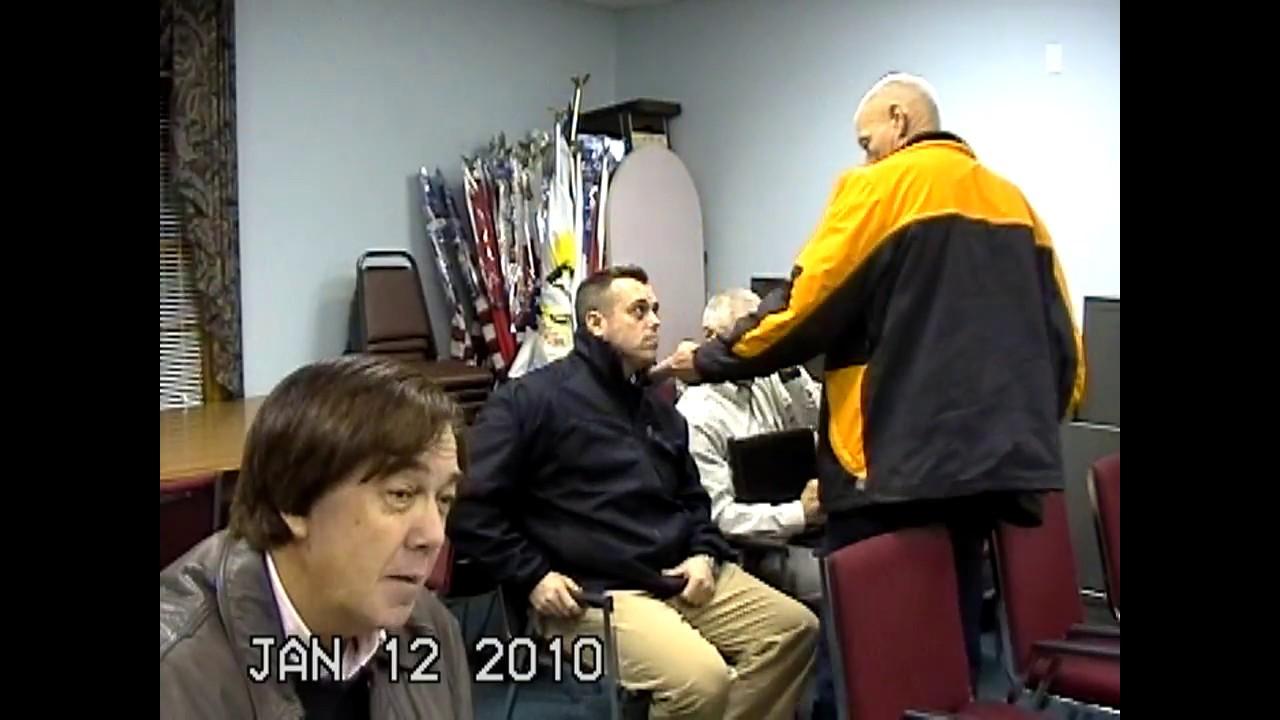 Champlain Town Board Meeting  1-12-10