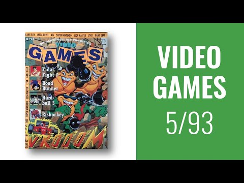 Rückblick Ins Heft: Die Video Games 5/1993 - MegaCD, VR, Roadrunner, BattleToads