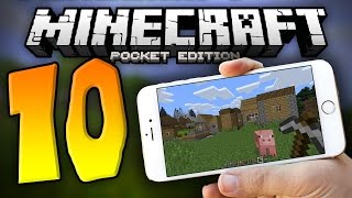10 THINGS You Didn't Know About MCPE!!! - Minecraft PE (Pocket Edition)