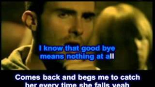 maroon 5 - she will be loved - karaoke