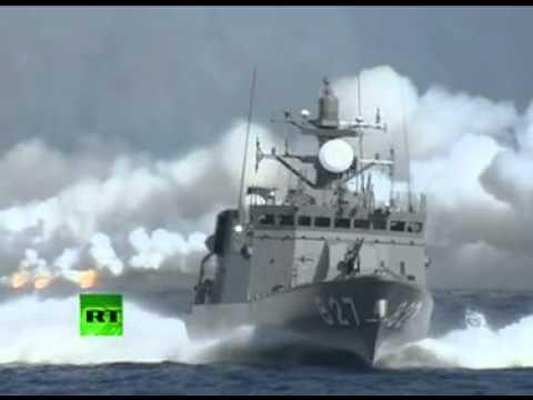 Japan Maritime Self-Defense Force (JMSDF) Show of force